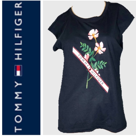 Tommy Hilfiger Tops - 🆕 Tommy Hilfiger Graphic Tee